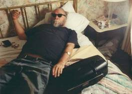 An older Fahey, in repose. Photo thanks to Bettina Herzner.